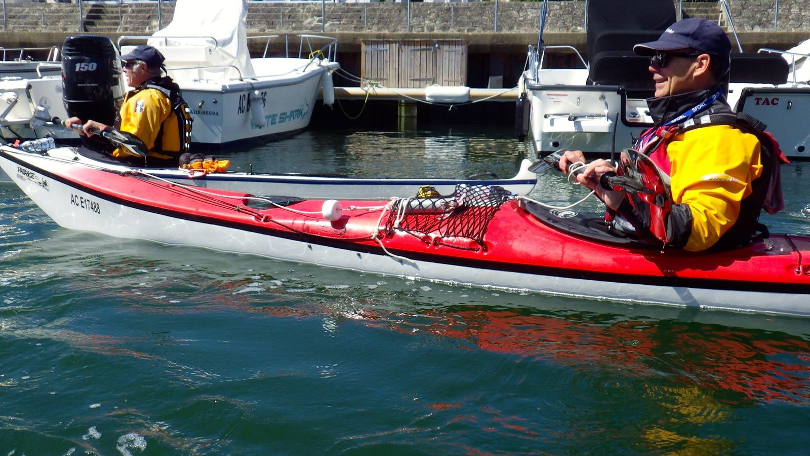 Huitres, kayak et soleil !