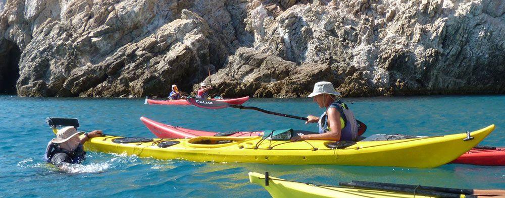 Kayak en Mer Egée