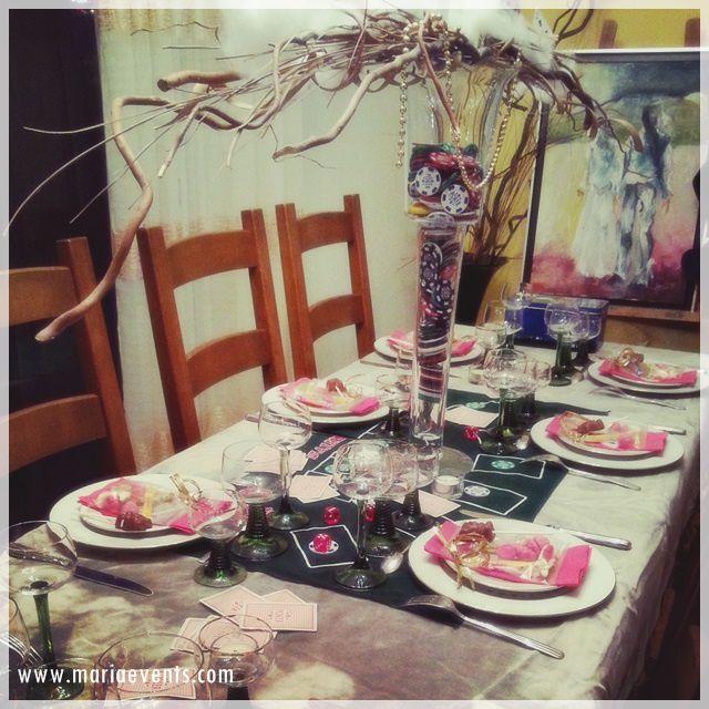 Décoration de Table CASINO