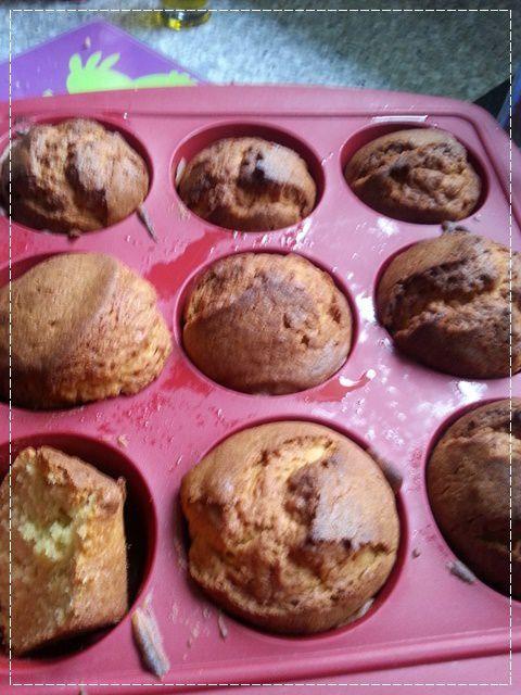 Muffins farcie au Nutella