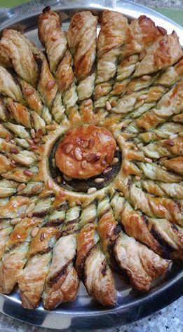 Tarte soleil au Pesto &amp&#x3B; Pignons