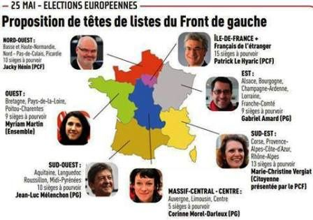 Le 25 mai, on vote Front de Gauche !