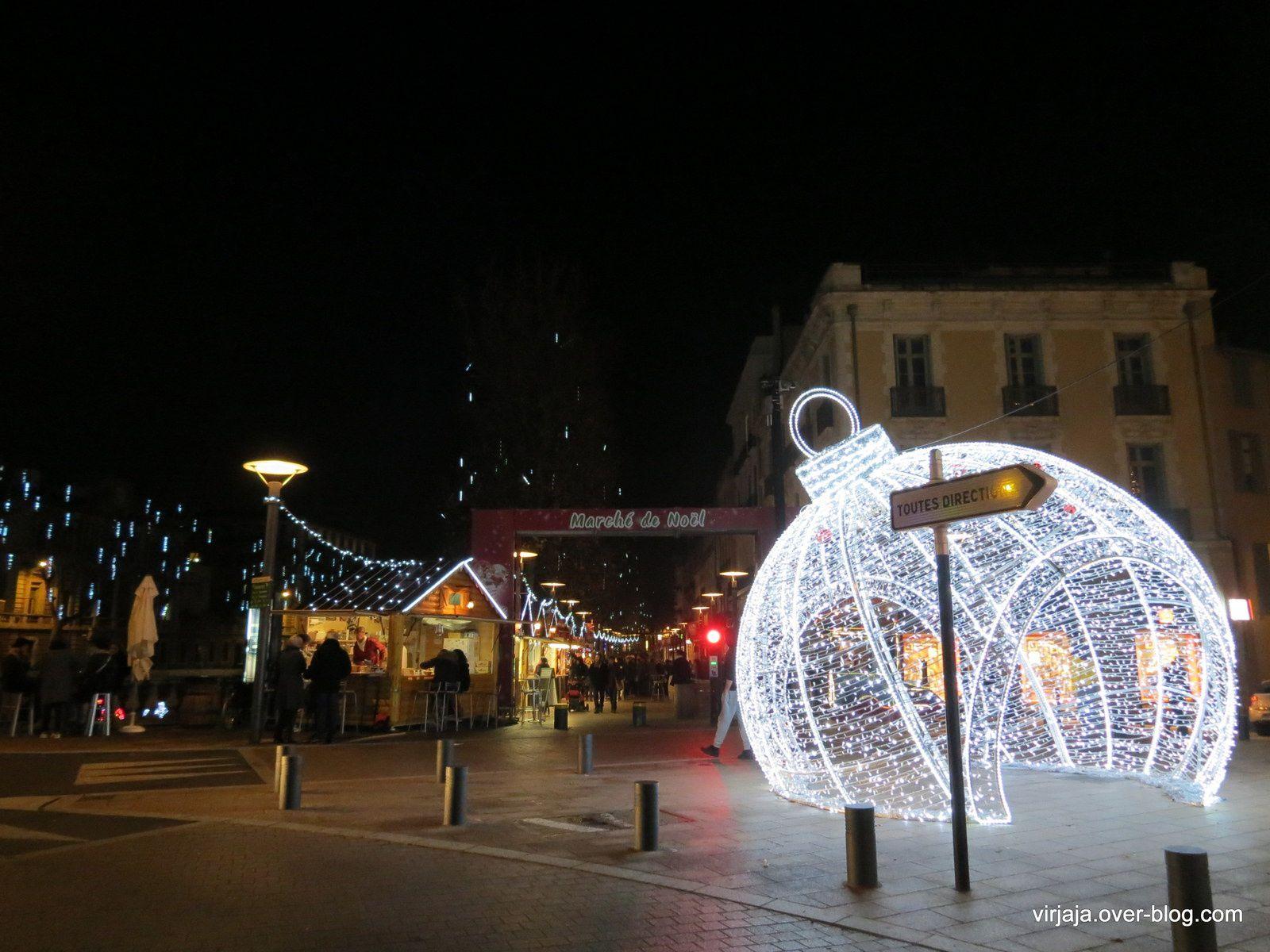 illuminations à Perpignan