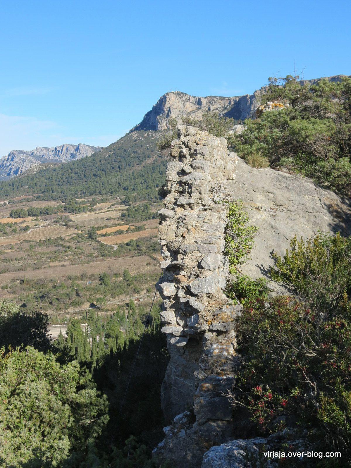 le chateau de Tautavel