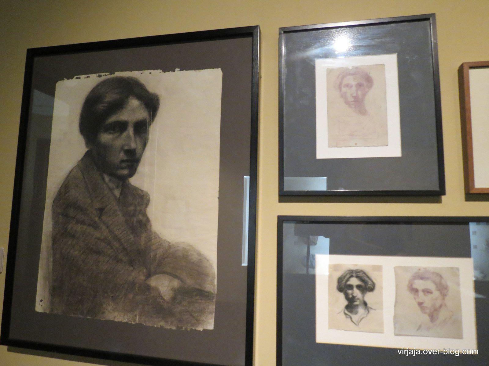 autoportraits 1915