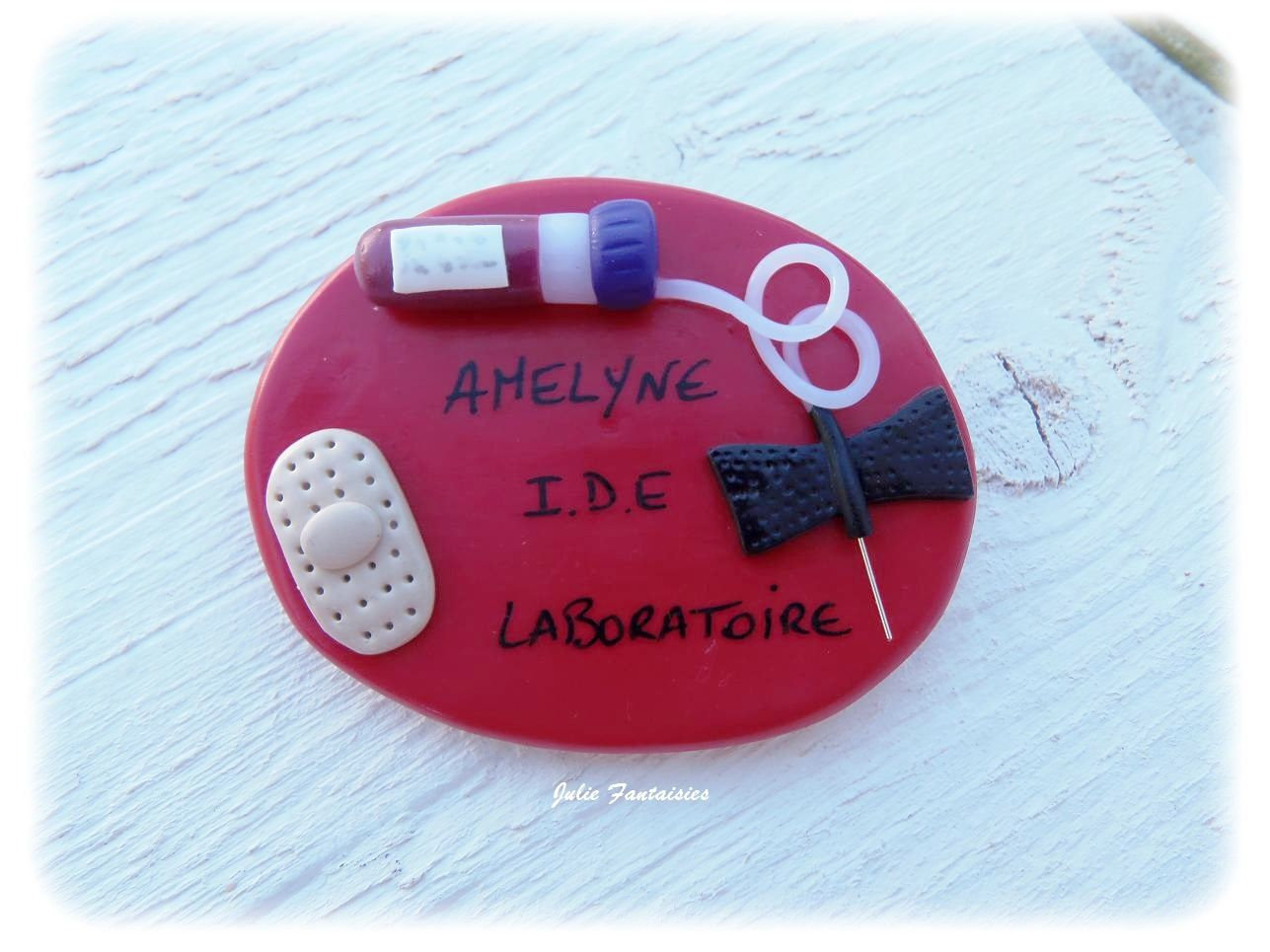 Badge pour Amelyne