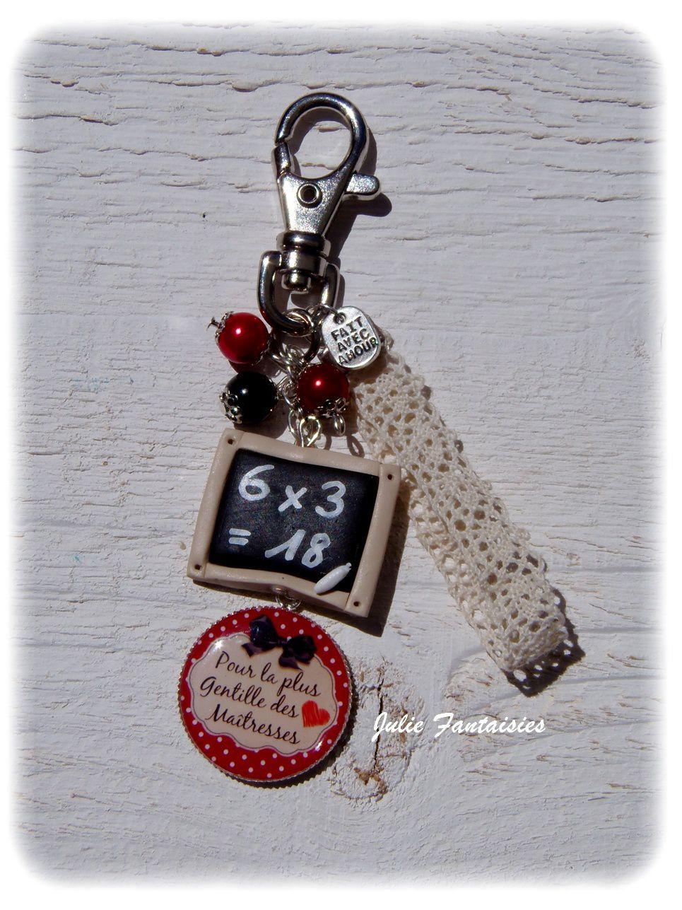 Quelques bijoux de sac / porte clés