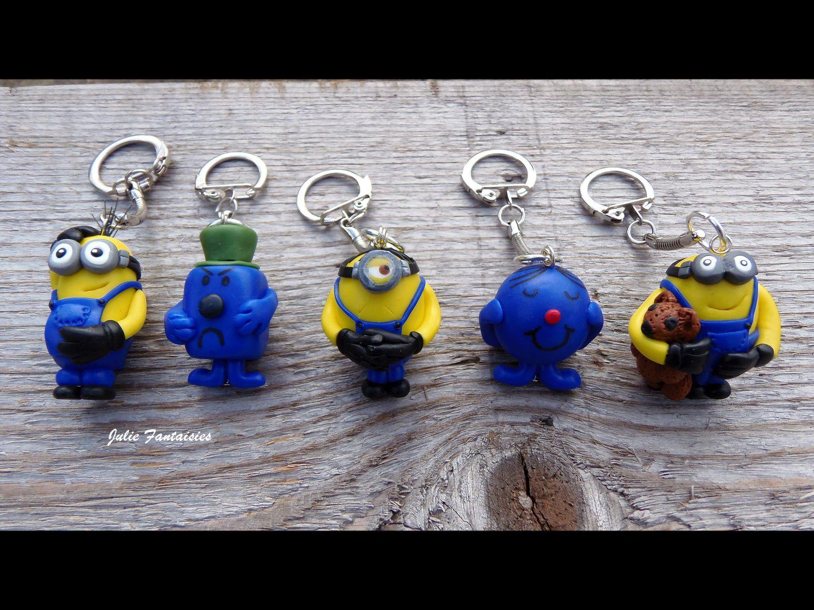 Des porte clés très Minions !