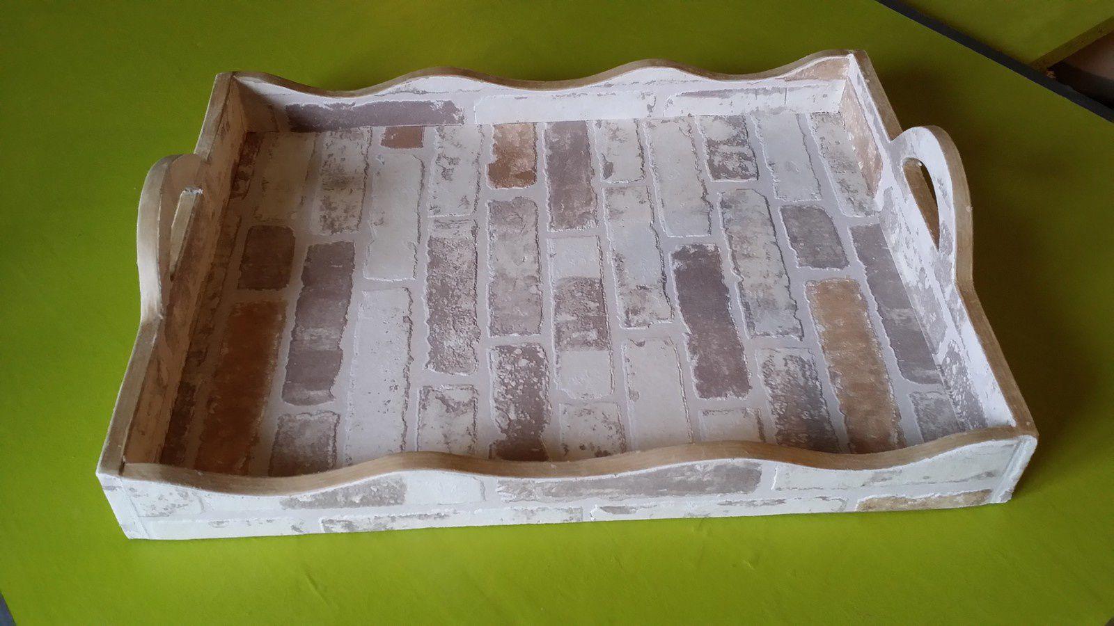 Tuto pour fabriquer un plateau en carton