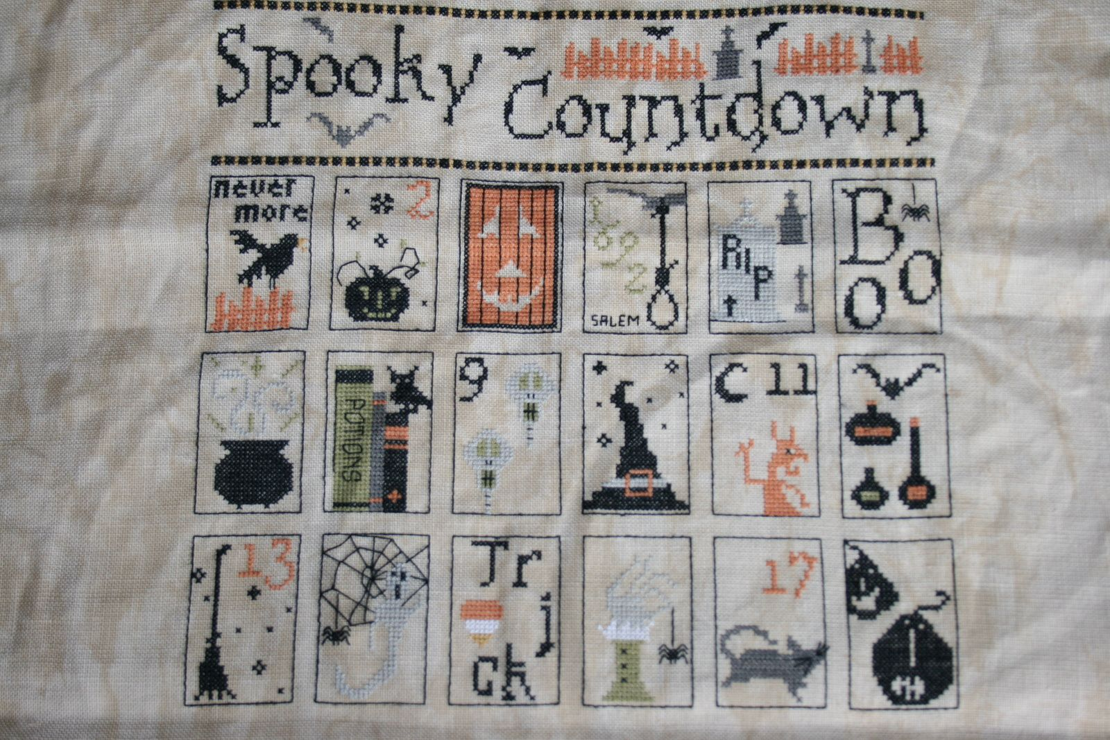 Spooky Countdown, the Primitive Hare