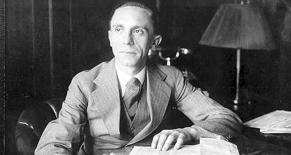 Dr Joseph Goebbels