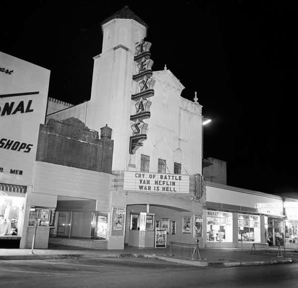 Movie theater where Lee Harvey Oswald was arrested after shooting U.S. President John F. Kennedy -- and Dallas Police Officer J.D. Tippitt.