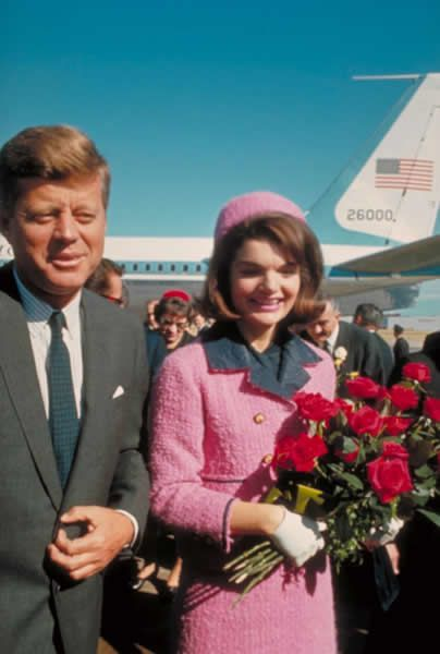 The world changes as President John F. Kennedy is