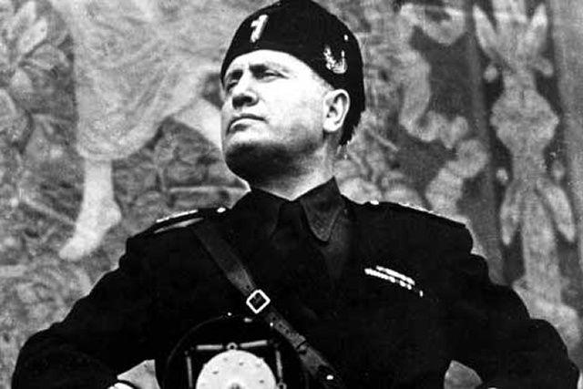 Le Duce, Benito Mussolini