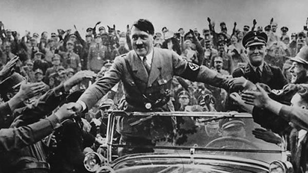 Hitler rose to power in Germany by offering a version of history in which the depression of the 1930s was the fault of the Jews.