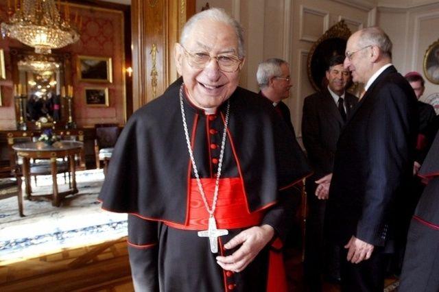 Georges Marie Cottier, ici sur une photo datant de 2004