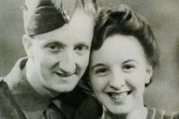 Roy and Nora pictured in 1944
