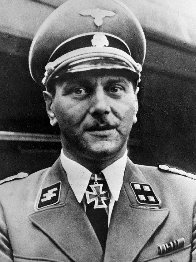 Otto Skorzeny, who led a daring and successful commando operation to free Benito Mussoilini