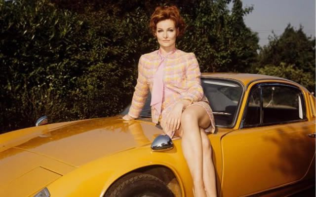 Adrienne Corri in 1968 on ITV's For Amusement Only series