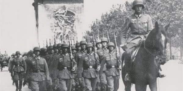 German troops occupy Paris in 1940: the dominant Modiano motif