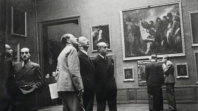 Himmler, en el Museo del Prado
