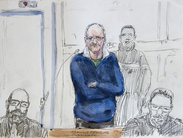 Au procès de Francis Heaulme / Benoît Peyrucq/AFP