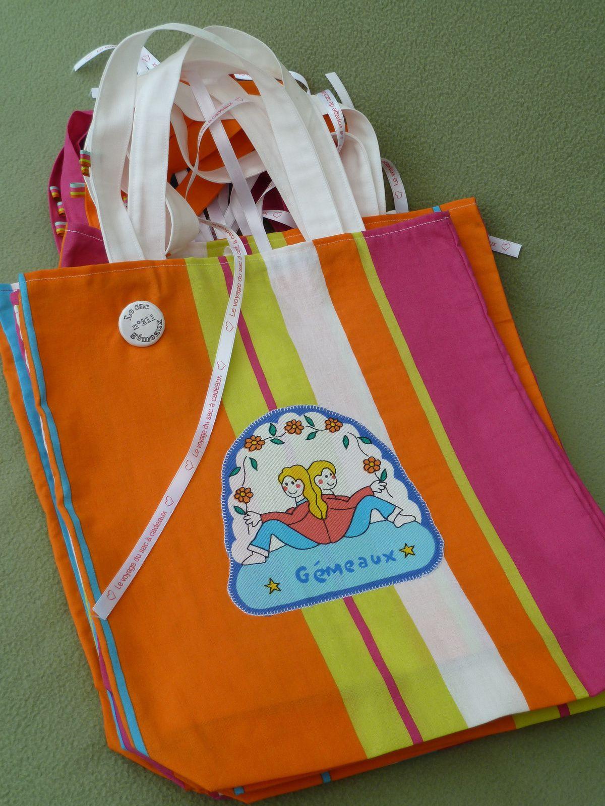 N°211 Le sac Gémeaux pour Pilarcita
