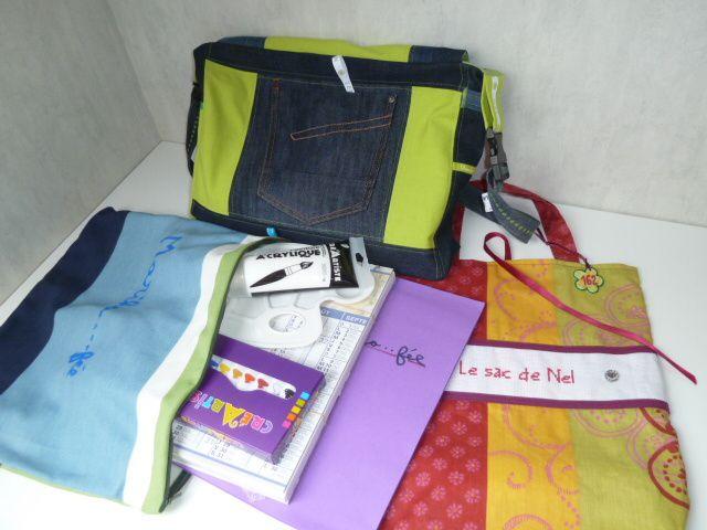 N°162 Le sac de Nel pour La Fée Tonnante