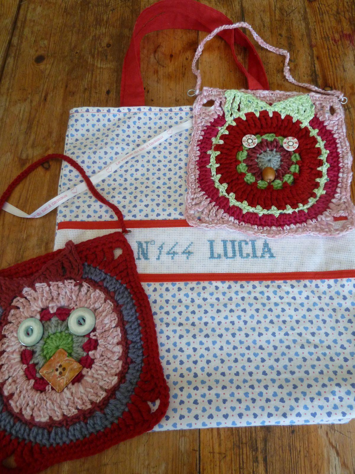 N°144 Lucia : chouettes !!