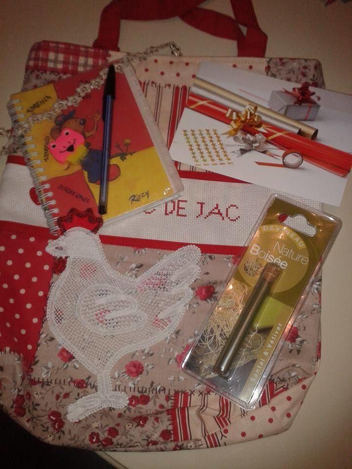 N°169 Le sac de Jac de retour à la maison