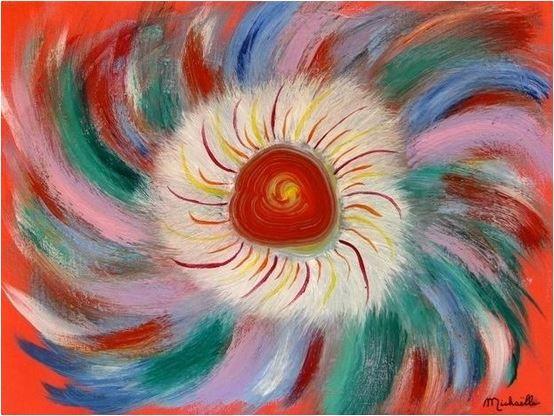 36°) Le tableau fleur de l michaelle