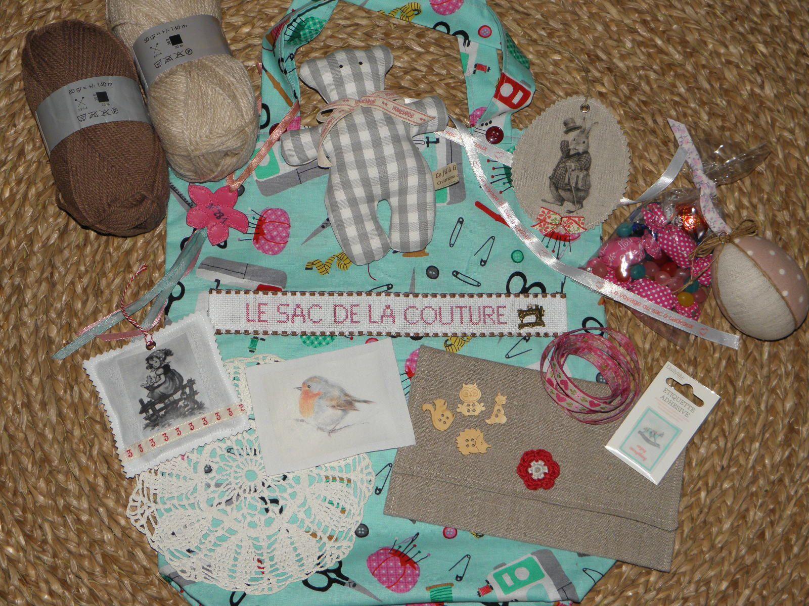 N°281 Le sac de la couture chez Mafalda