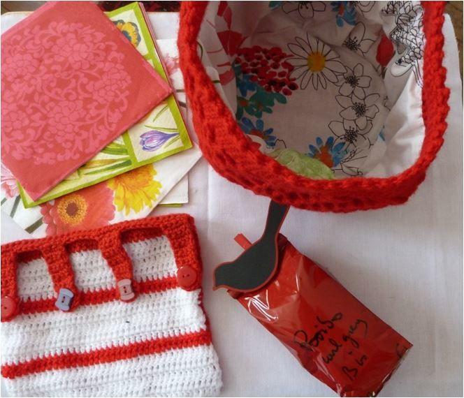 N°294 Le sac rouge pour Clauderose