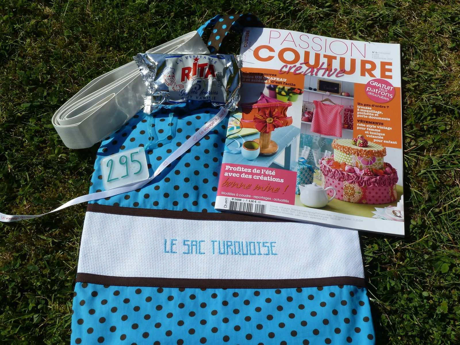 N°295 Le sac turquoise chez Florence V