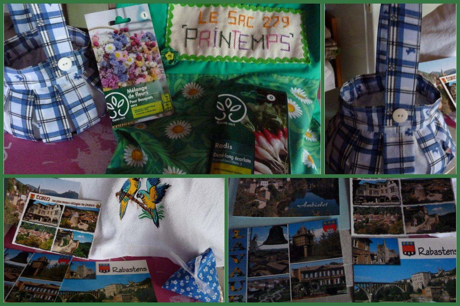 N°279 Le sac Printemps chez Erika