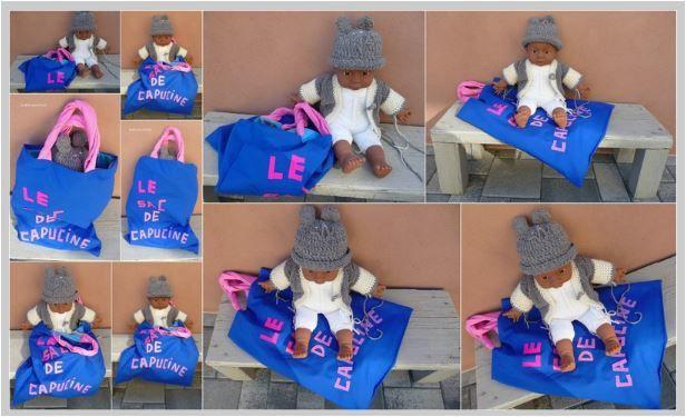 N°331 Le sac de la poupée Capucine : vendu !