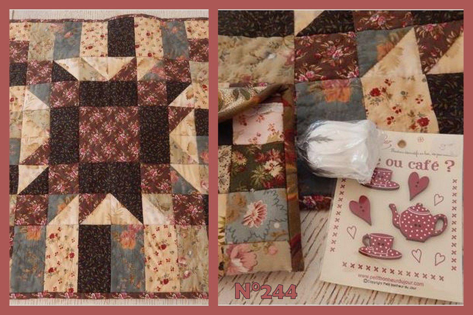 N°244 Le sac patchwork chez Mafalda