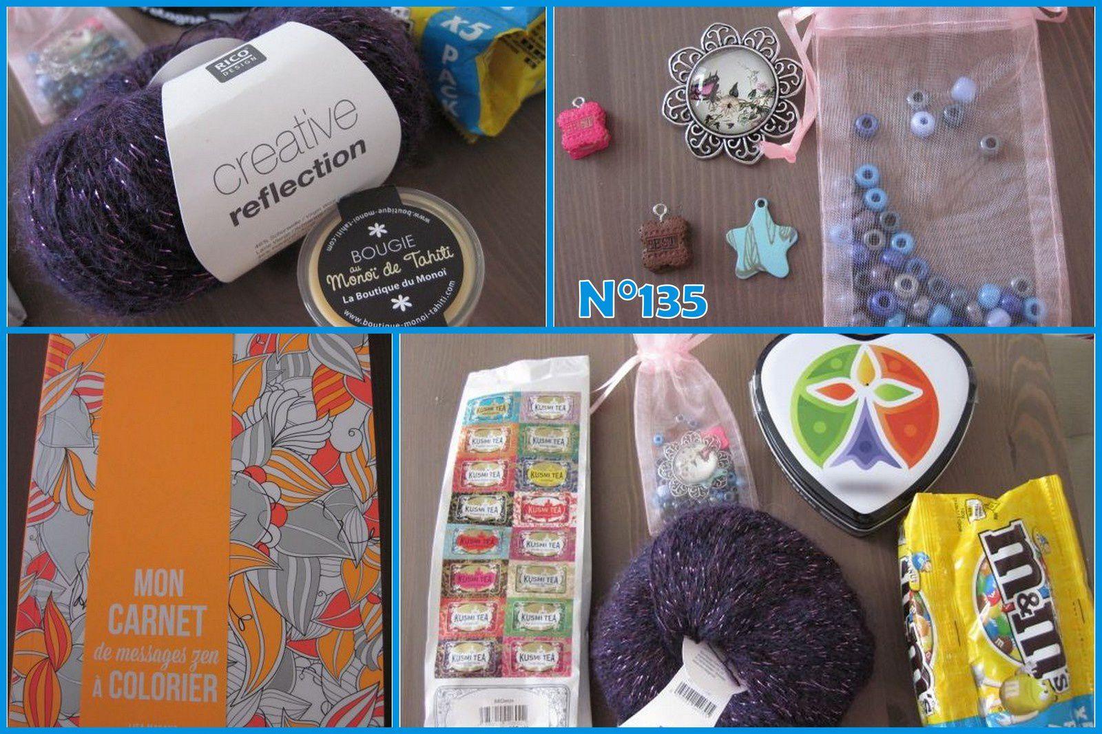 N°135 Le sac Mars : 22ème livraison de cadeaux