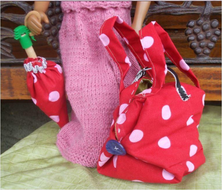 N°327 Le sac de la poupée Sandra : vendue !