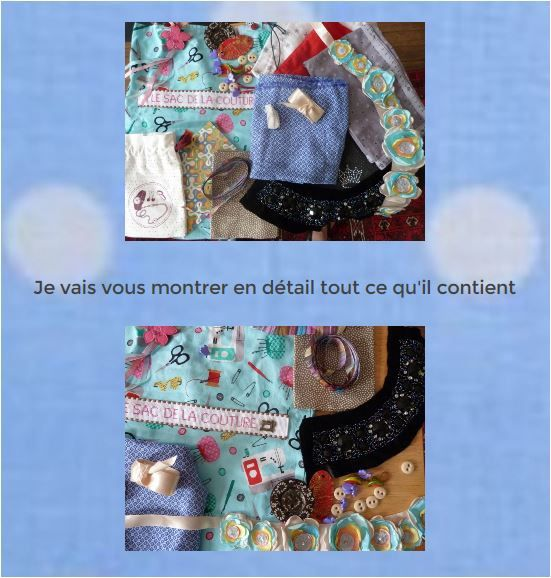 N°281 Le sac de la couture chez Clauderose
