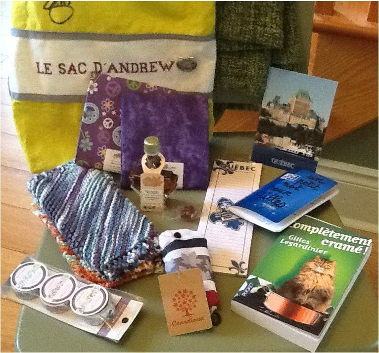 N°246 Le sac d'Andrew chez Sophie SD