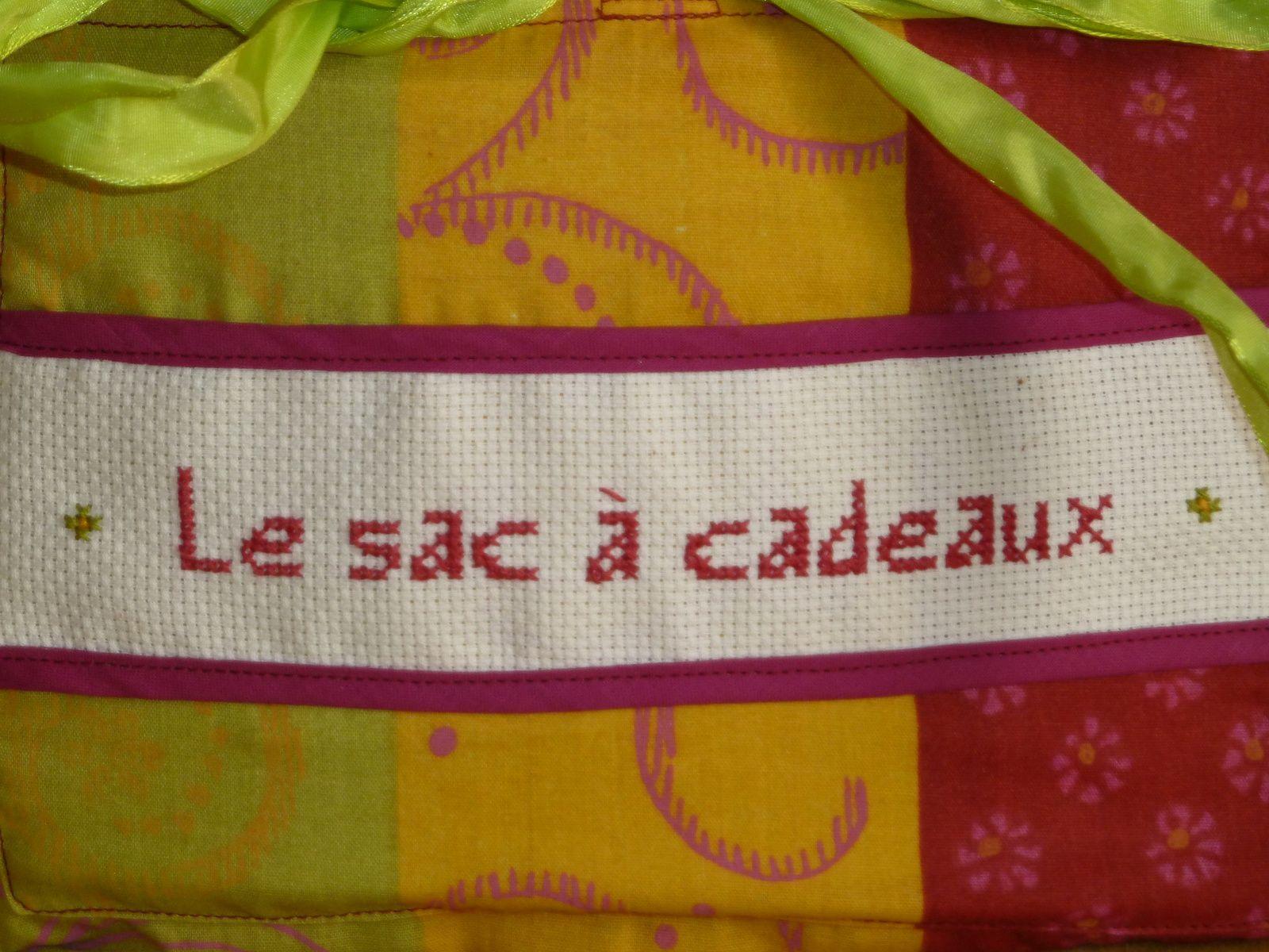 N°1 Le sac à cadeaux  chez Christine