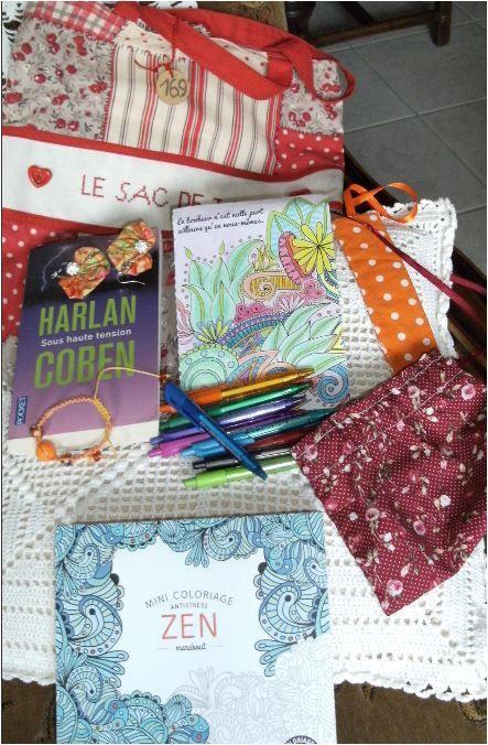 N°169 Le sac de Jac : mandalas pour Jacqueline