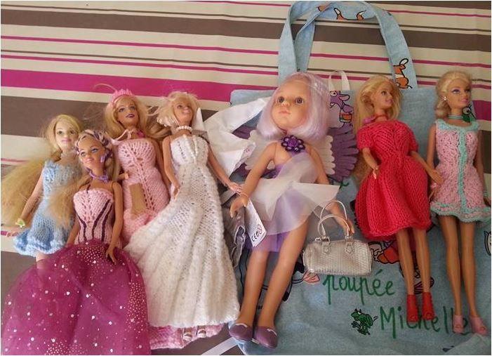 N°324 Le sac de la poupée Michelle : vendu !