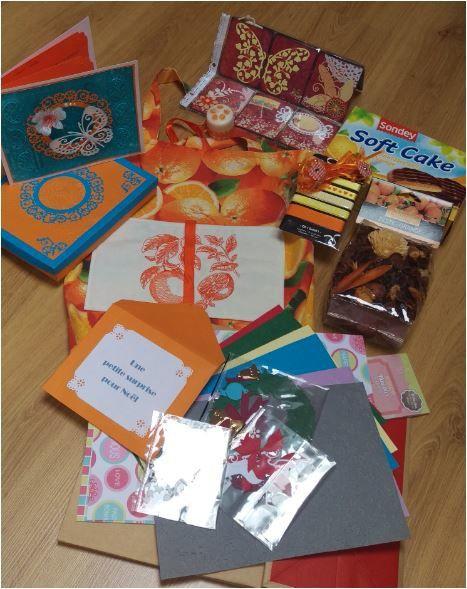 N°264 Le sac Oranges pour Carole