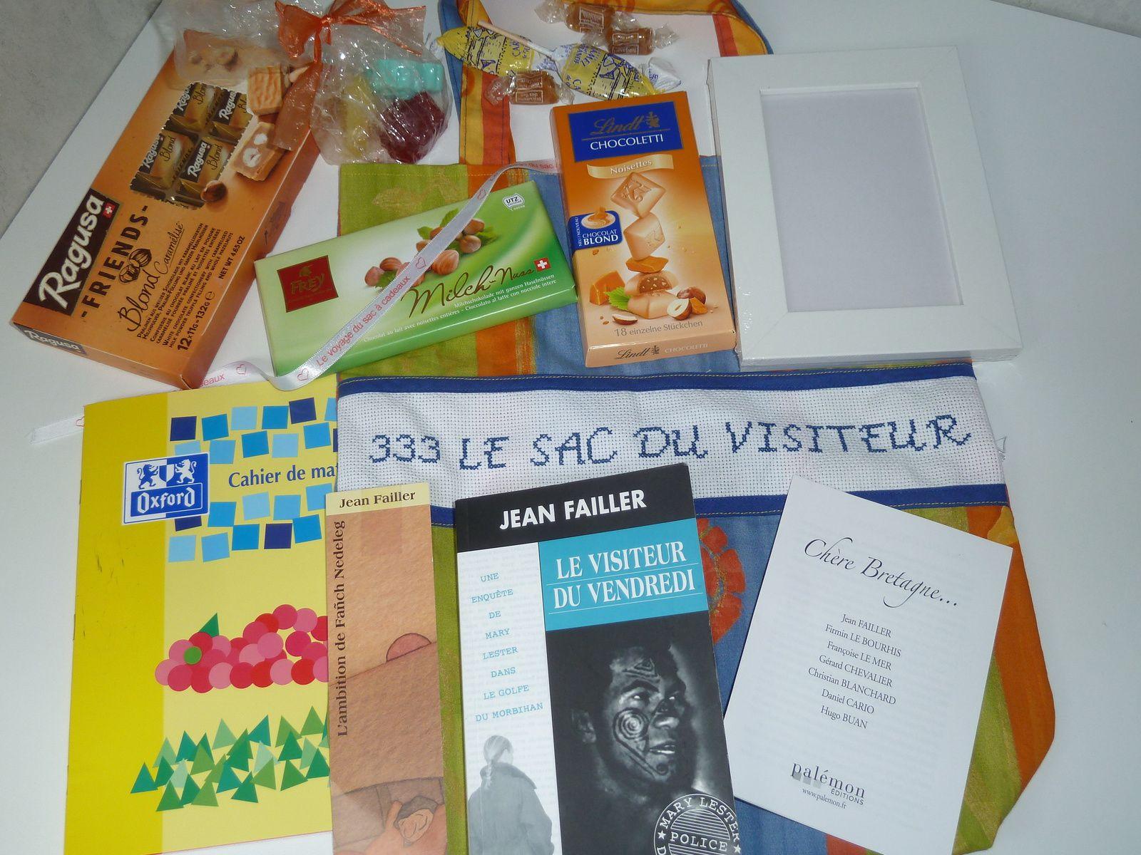 N°333 Le sac du visiteur : en visite chez moi