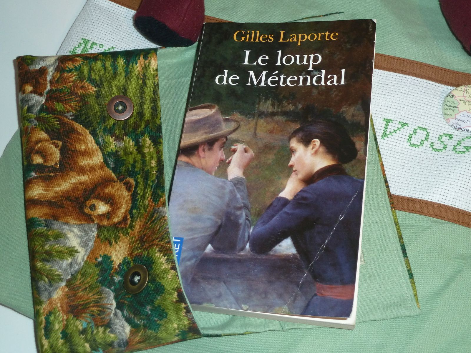 N°488 Le sac des Vosges et le Loup de Métendal chez Jeanine
