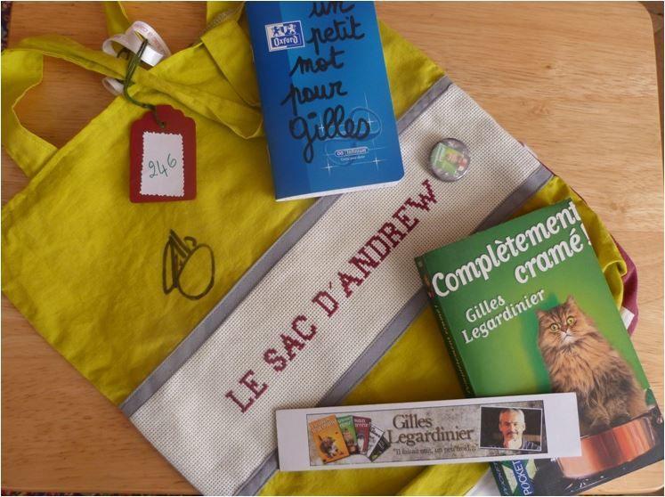 N°246 Le sac d'Andrew chez Clauderose