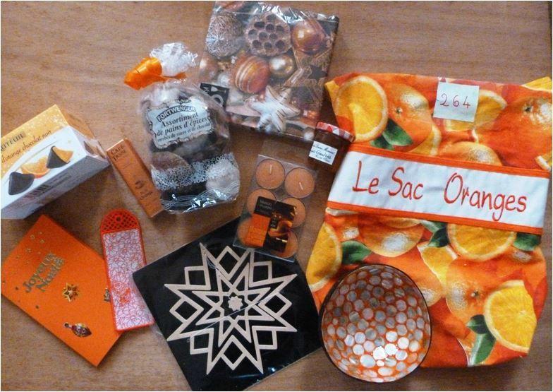N°264 Le sac Oranges pour Giselle