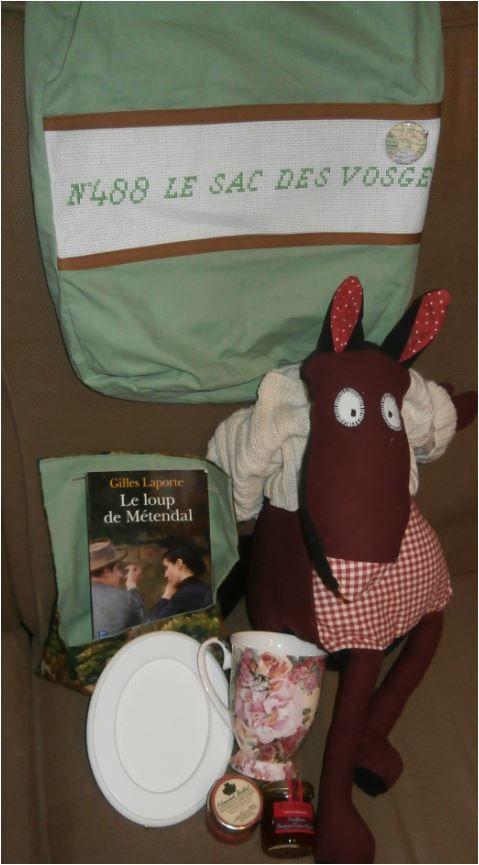 N°488 Le sac des Vosges chez Bry41: avec le loup !
